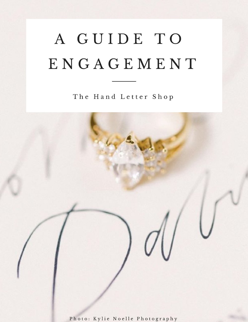 Your engagement doesn't have to be stressful! - Savor this time (and stay organized) with a free Guide to Engagement.