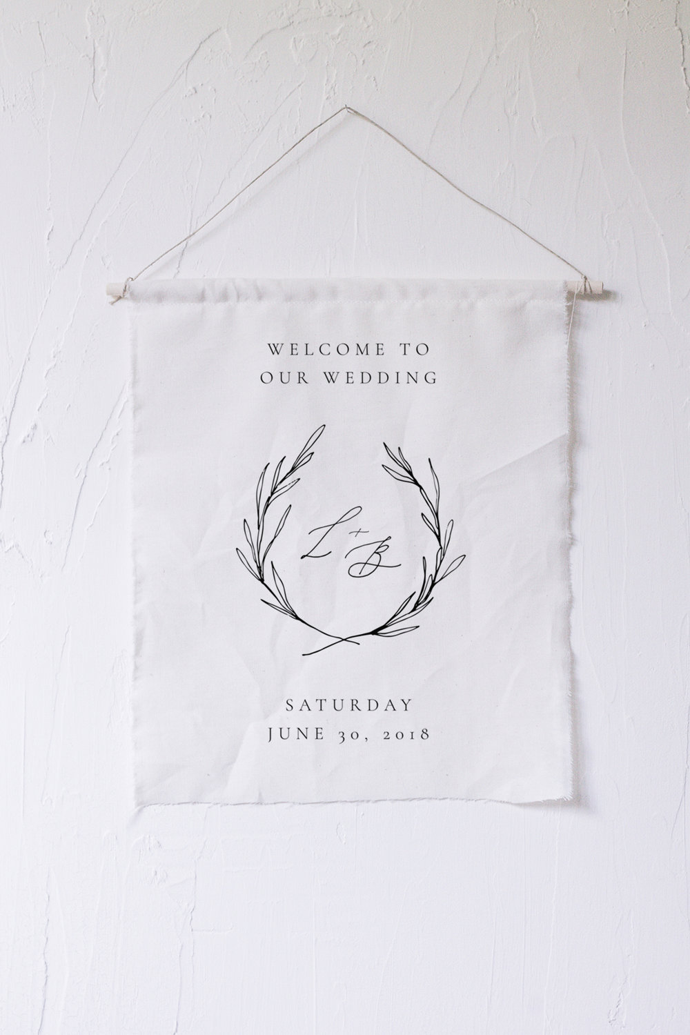 Wedding welcome sign ideas #thehandlettershop