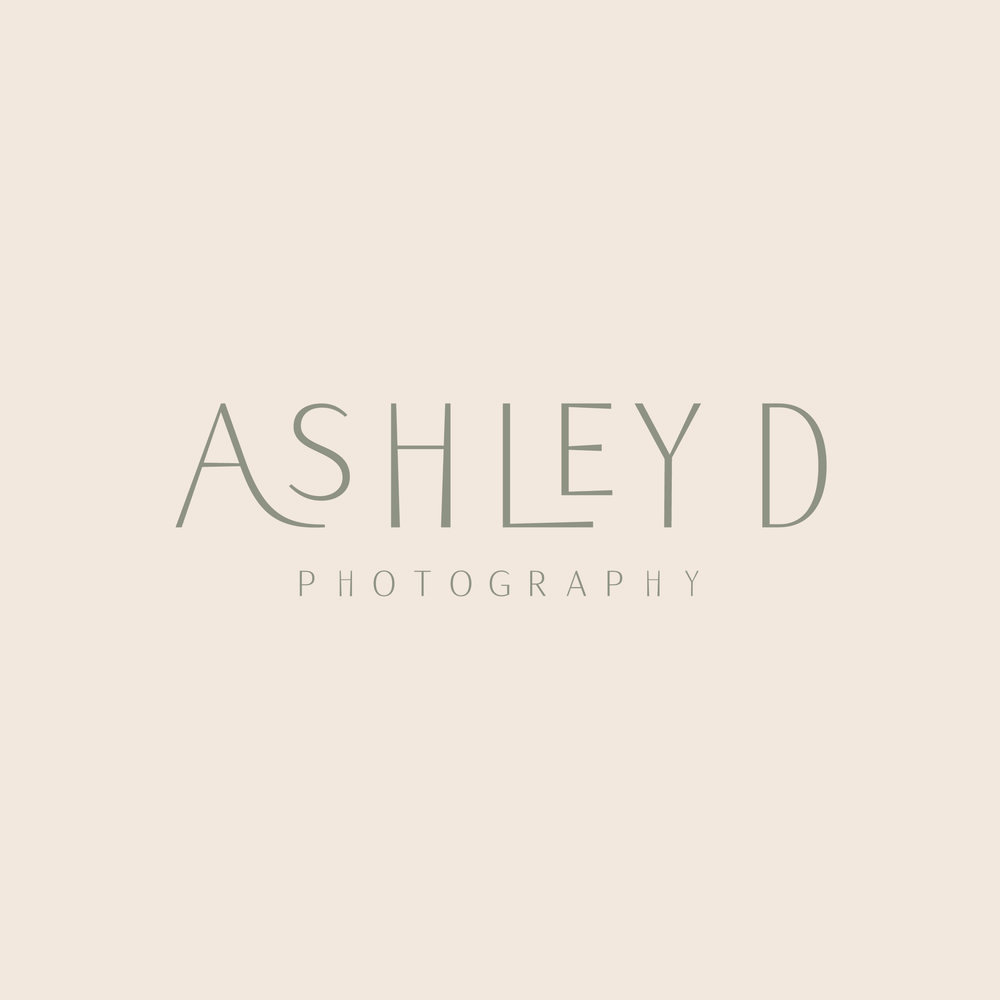 Ashley D Photography–Brand Design, Print Collateral