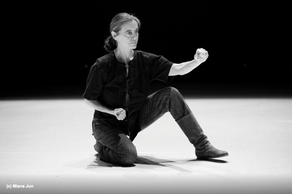 Daria Fain - Daria Faïn is an acclaimed New York director and choreographer originally from Antibes, France. Her work fuses her European cultural background with three decades of practice in Asian philosophies of the body,American dance training as well ancient Greek theater. From this, Faïn has developed a unique movement and performance approach.She has been a mentor, teacher, and spiritual guide for Elia Mrak for the past 4 years.