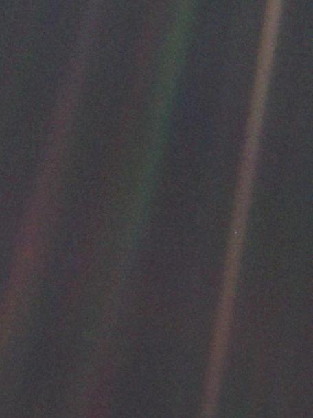 A Pale Blue Dot -