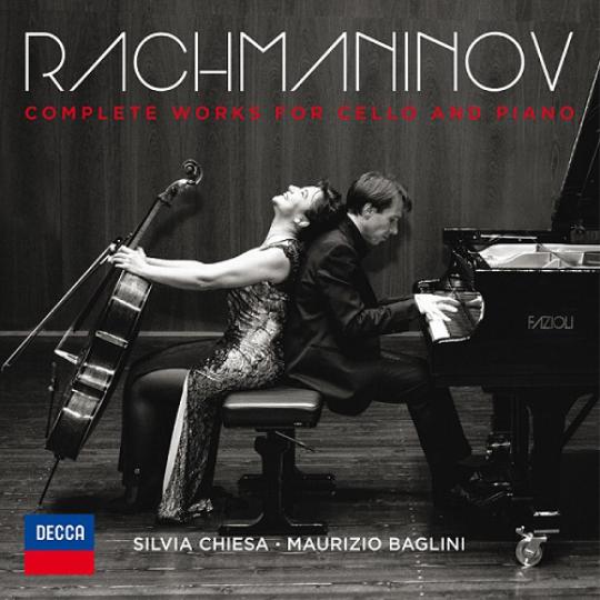 RACHMANINOV  Integrale delle musiche per violoncello e pianoforte Chiesa | Baglini 2016 Decca 481 2469 DH DDD CD  recensioni  |  reviews