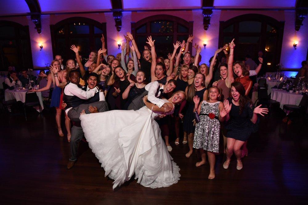 Paige Joshs Goshen In Wedding Reception Dj The Music Place