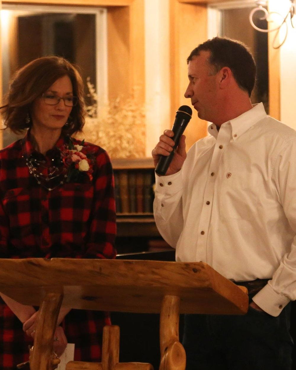 We had an excellent evening enjoying the Annual Valentine Banquet at  Rainbow Bible Ranch . Gary and  Lori Wilken  did a fine job of speaking and the audience was so appreciative.