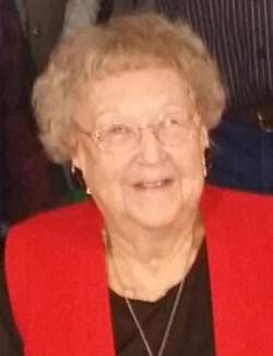 """- Elouise Ross Lintz, 96, passed away on Sept. 12, 2018, in the company of her children, grandchildren, family and friends.She was born on Aug.18, 1922, in Searcy, Ark., to Elisha and Phoebe Ross. In 1923, her family moved to California, and she spent her childhood in the San Fernando Valley along with her brother, Kelley Lee and sisters, Mary Francis, Martha Nell, Lorraine and Patricia.The year 1941 was a big year for Elouise. She graduated from Canoga Park High School, completed a six-month business course at Los Angeles Business College, and worked as a personal shopper for the Broadway Department Store in downtown Los Angeles. But above all else, she met the love of her life, Jack Lintz, in January and they were married later that year on Christmas Day, 1941.They both went to work for Douglas Aircraft in Santa Monica until May, 1944, when Jack joined the United States Marines and Elouise prepared to welcome their first child, Linda Lee, who was born later that year. Three more children, John Ross, Thomas Leslie and James Arnold would join the family over the next few years.Elouise, Jack and their young family moved to """"the old Kimball place"""" on Highway 36 near Hermosa, S.D., in June, 1949. Eastern Custer County was home to Jack and became home to Elouise. They spent 59 years together in their home along the creek, and Elouise lived in the home they built together for the rest of her life.She mastered nearly every aspect of rural living, and was an especially talented cook and baker. She had an exceptional singing voice, and directed the Congregational Church choir in Hermosa for many years. Most of all, best of all, she was warm, gracious, loving and always a lady.Elouise leaves behind her children, grandchildren and great-grandchildren; Linda Lintz, John (Michelle) Lintz, Thomas (Kelley) Lintz, Jim (Brenda) Lintz, Marnie (Doug) Herrmann, Tre' Ventling, Jeffie Ventling, Will (Kate) Ventling, Jennah Lintz, Jordan Lintz, Ashley (Matt Mickley) Lintz, Deisha (Charle"""