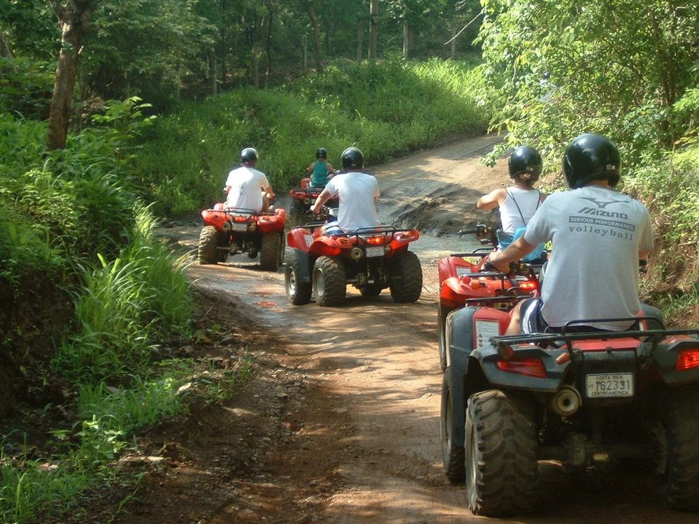 ATV TOUR - Tours are the best way to see the real Guanacaste countryside. We have several tour packages, including an Adventure Tour and a Coffee Lovers Tour; or you can build your own with the help of our professional tour guide service.Tour Rate. $75 person or $100 2people/ATV - 3PAX minimum.