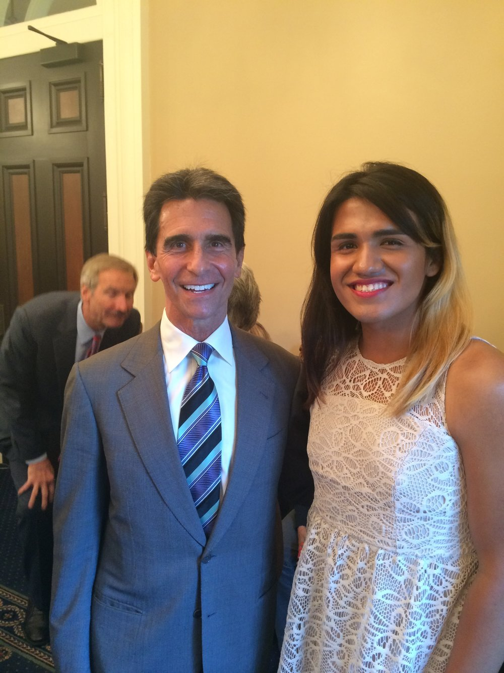 Partnering w/Assemblyman Mark Leno on CA AB1266