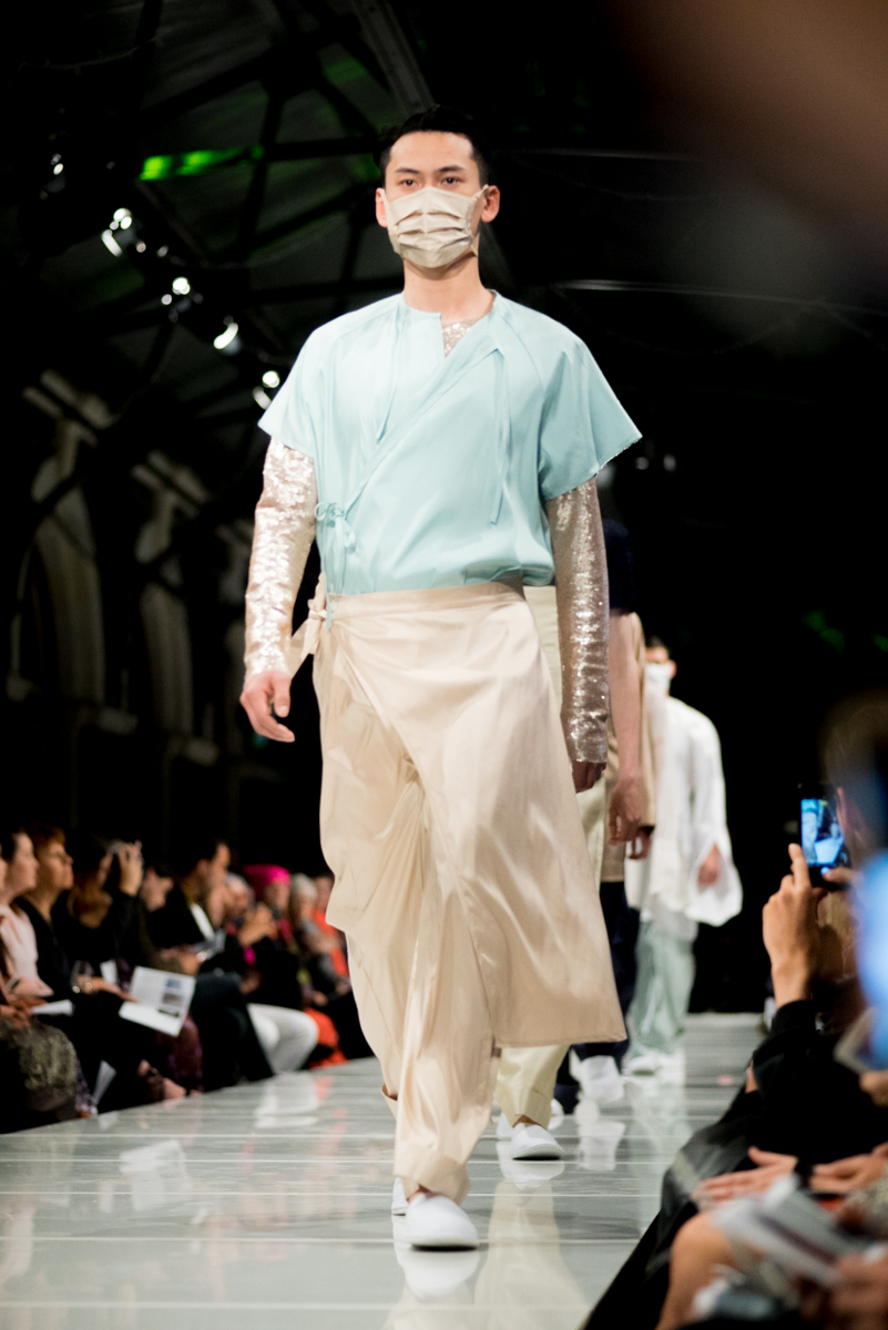 Philip Von Fury collection at iD Emerging Designer Awards. Photography, Sonia Sly