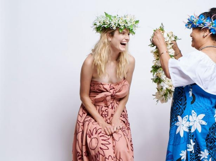 Karen Walker X Kūki 'Airani Creative Māmās, image supplied.
