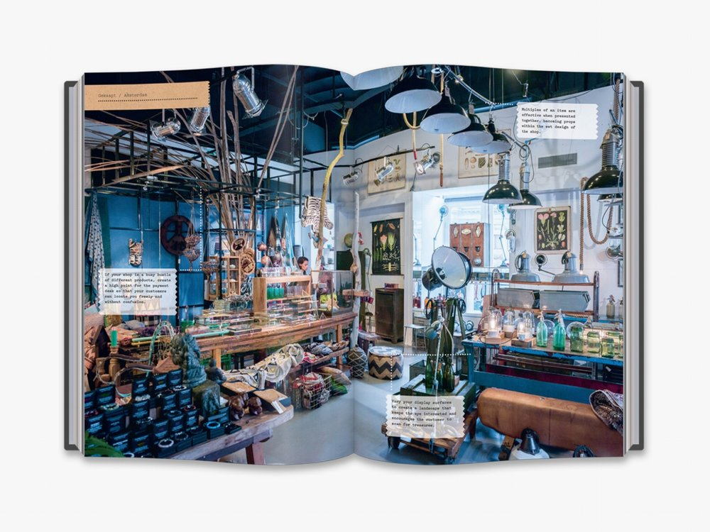 The Creative Shopkeeper features 60 independent retail spaces from around the world. Image supplied.