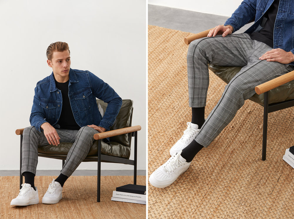 The Full-Time Collection fuses traditional tailoring with sportswear and steetwear elements.