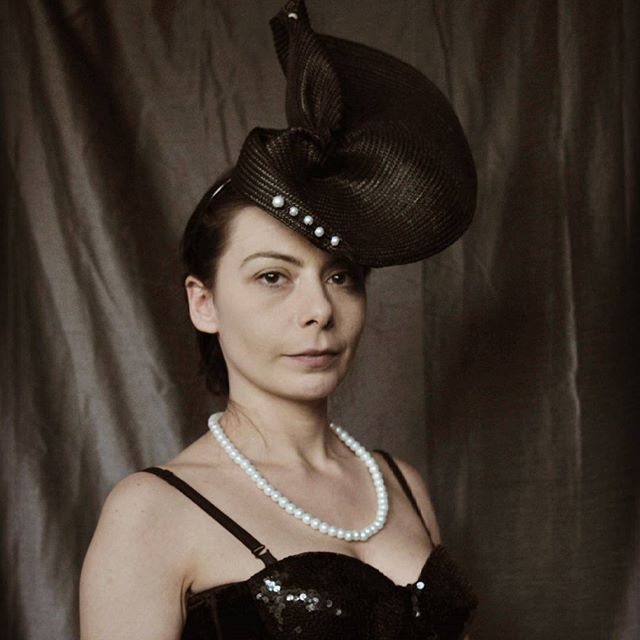 Millinery is also a feature of David's work. Image supplied.