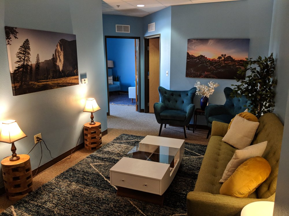 We aim to provide a relaxing and comfortable experience at our offices. - We look forward to your visit to Pinnacle Counseling and Testing Center and helping you reach peak mental health performance.