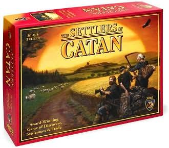 Settler of Catan Box Art
