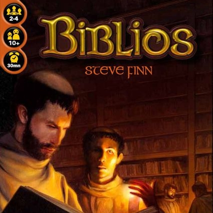 Biblios - This is a fun and clever bid and auction card game that is perfect for gamers and non-gamers alike. It is easy to teach and has simple mechanics which attracts non-gamers but also has a great strategic component that really draws in more experienced players. The portability alone has made it easy to take to all different environmental settings as the whole game has the feel of a small light book. Biblios is great for 2-4 players and this is one of my favorite 2-player games of all time. I highly recommend it!