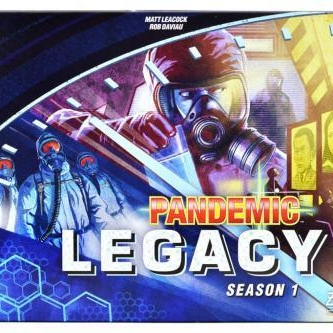 Pandemic Legacy:S1 - This game is unlike any other and is a huge upgrade and improvement from the original Pandemic. This co-op game is not for the casual gamer and will require a lot of hours, strategy, and devotion…. BUT IT'S WORTH IT! Each game you play affects the board permanently and will affect all future games as well. Every person that owns the game will have a completely different experience. This is the perfect game for those looking for more depth, strategy, and to experience a game like no other! I highly recommend playing this game but you should start from the beginning as it will get too confusing starting after a couple games have been played. It has all the mechanics from the original but adds so much depth with endless choices and possibilities.