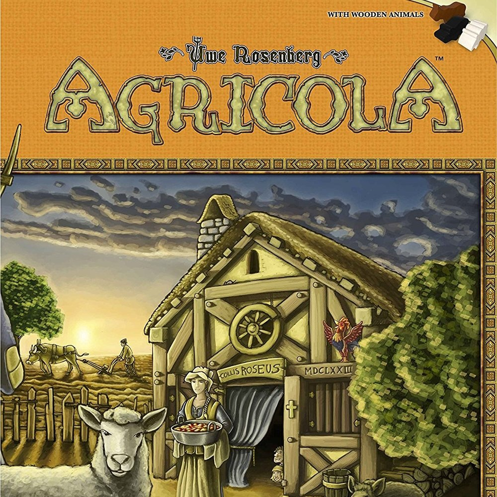 Agricola - As a kid I was obsessed with