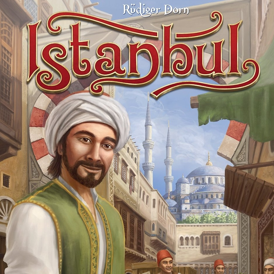 Istanbul - Istanbul is a fantastic Euro game that introduces unique movement mechanics with the merchant and assistants. The modular board lends to high replayability. There are multiple paths to victory which is something I desire as it changes each game. The artwork is topnotch and you get a lot of game components for the price of the game.The expansions improve the game immensely.Once you play an expansion you won't want to play with just the original. It is currently my wife's and my favorite game to play with each other. The rulebook offers a couple different variants to keep the game interesting and more challenging. Istanbul is very underrated and anyone that I have introduced the game to absolutely loves the mechanics and unique gameplay. Do yourself a favor and buy this game, you won't regret it!