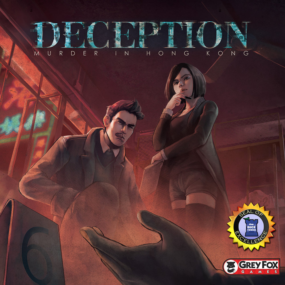 Deception: Murder in Hong Kong - INTRODUCES: Social DeductionIn the this game, players take on the roles of investigators attempting to solve a murder case – but there's a twist....the killer and possibly an accomplice are on the investigative team! While the Investigators attempt to deduce the truth, the folks involved in the murder must deceive and mislead, leading the investigators down a rabbit hole.Deception is an excellent game for 4 to 12 players and an excellent choice for newbies. It's a great social game of deduction and deception. This game is very easy to learn and to teach. It is a great game of interaction, easy to get people involved, and so much fun to play!CHECK OUT OUR OVERVIEW!