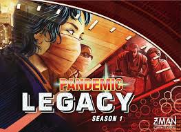 Pandmeic Legacy - Pandemic Legacy: Season 1 is a standalone game from the original Pandemic game and expands upon the already popular mechanics and gameplay of the original. Legacy is actually a much better 2 player game then the original because it's set up like a campaign with you opening new pieces and rules every time you play. I actually prefer this game as a 2-3 players because you are able to make decisions easier and you get more turns. Pandemic Legacy is like no other game as it's a co-operative campaign game with an overarching story-arc played through 12-24 sessions. You get to unlock new secrets, rules, and game pieces each time you play and your decisions carry over into future. Thus, it's a great game for 2 player as you can make all the decisions together while exploring this very unique journey. This game is definitely more complex than the original and if you are looking for a game that will keep you intrigued for a long time, then look no further!