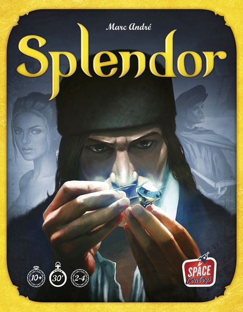 Splendor - Splendor is an great gateway game because it teaches some of the core mechanics of modern board gaming and is relatively easy to teach. Splendor also does an excellent job with scaling for 2 player games. My wife and I love playing Splendor together and you are able to play more defense in 2 player as you can just focus on one opponent. Splendor is still best with 3-4 players but it's surprisingly an excellent 2 player game because of it's mechanics.You can find the full review of Splendor on our blog page and it made both of our top ten lists of all time.Check out our Splendor Overview Page!