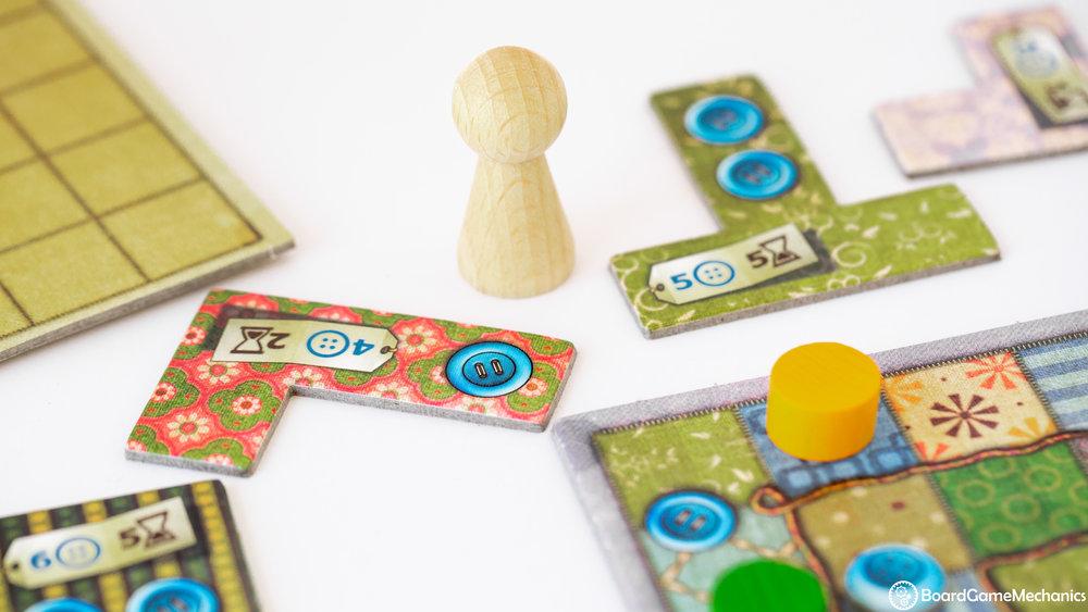 Patchwork Board Game Mechanics