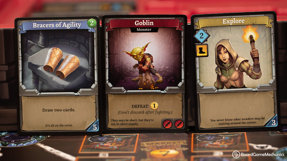 Clank! A Deck Building Adventure Cards