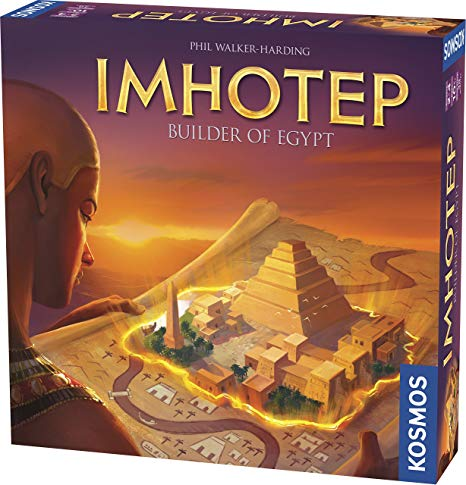 Imhotep Board Game Box