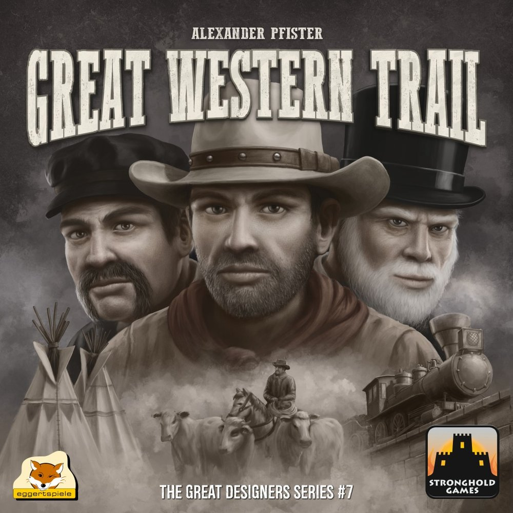 Great Western Trail - RELEASED: 2016In great western trail, you are rival cattlemen in 19th century America, herding cattle from Texas to Kansas city in a circular trail. Your cattle are then shipped by train, earning you money and victory points. Hire capable staff, such as cowboys to improve your herd, craftsmen to build your cattle posts, or engineers for the railroad line. Upon each arrival at the destination station, have your most valuable cattle in tow. The winner is the player who manages their herd best and exhibits good timing in mastering opportunities and pitfalls on the great western trail. This is an extraordinary gamers game, full of exciting decisions and with enough strategies to merit countless plays.