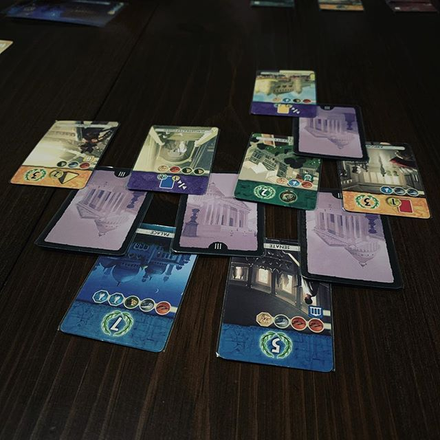 A little 7 Wonders Duel with the Mrs. tonight! Happy Valentine's Day everyone!!