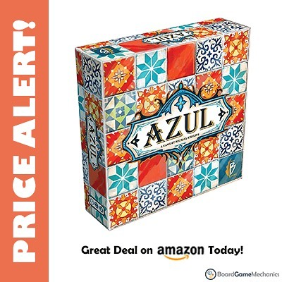 One of my favorite games to play Azul is on sale right now at Amazon for $26! That's 35% off MSRP ($40). I put a direct link in our bio.