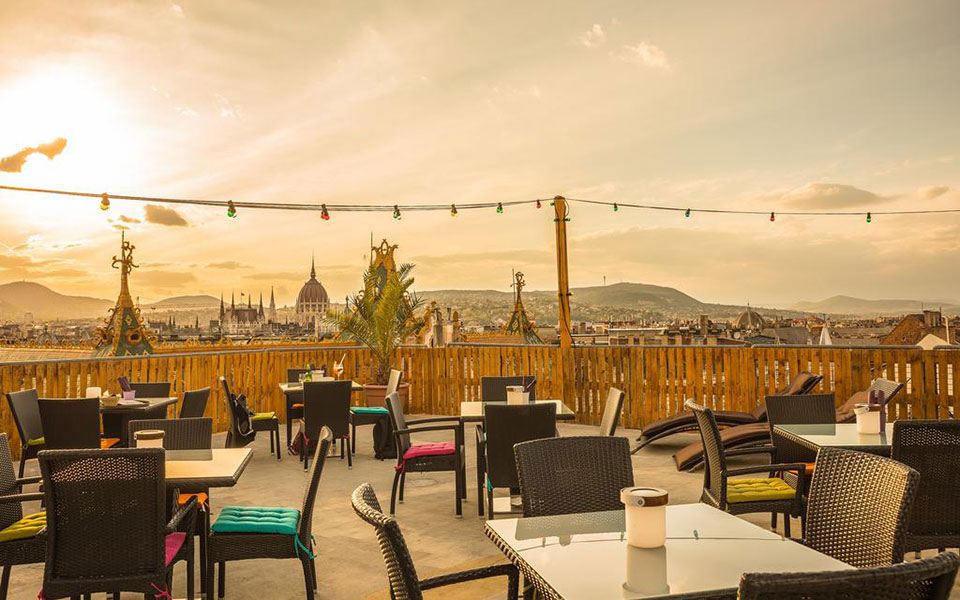 Cheers to Aperitifs and Amazing Views Atop Budapest's Best Rooftop Bars - Budapest Local, August 2018