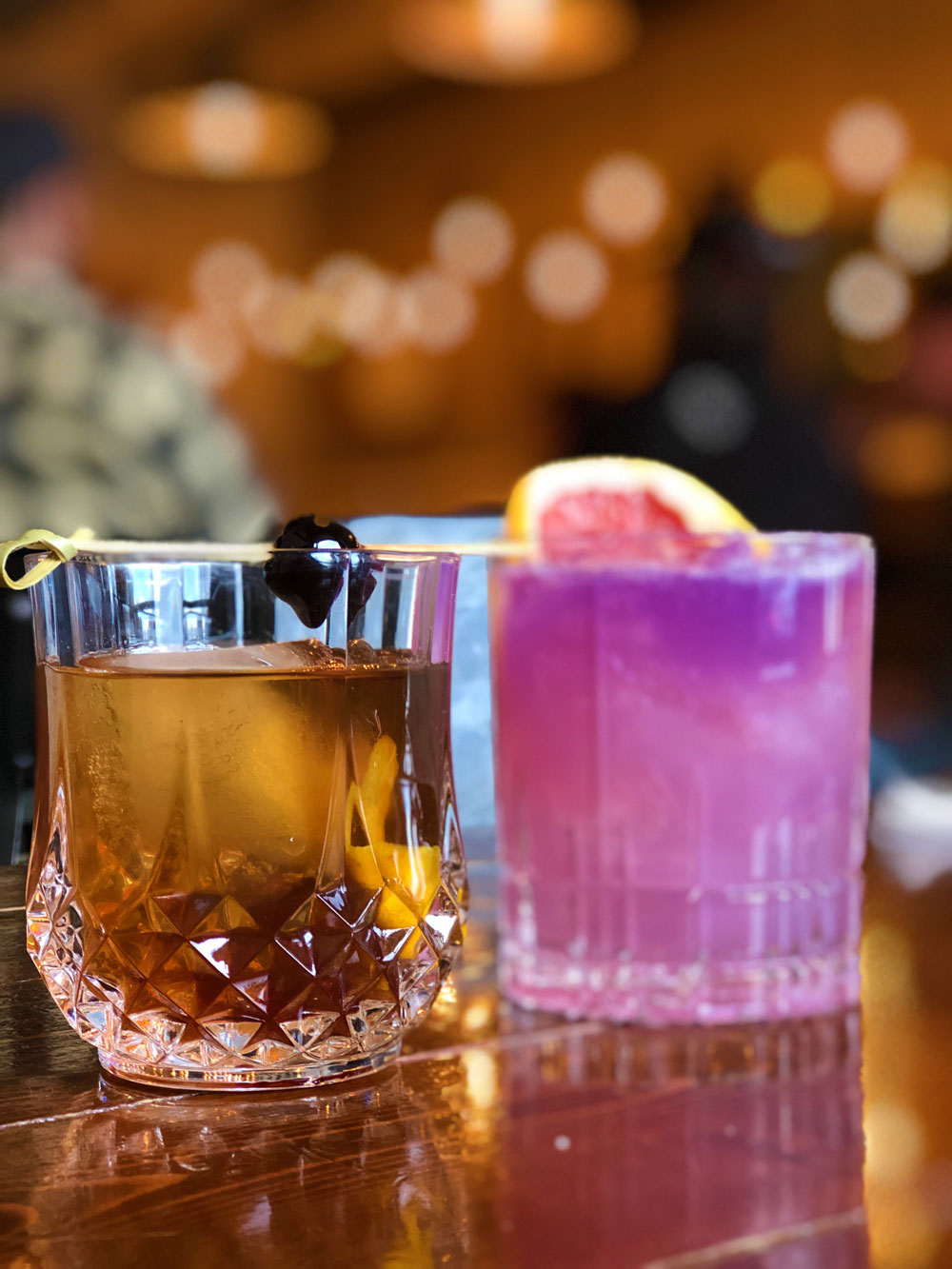 There's always time for an Old-Fashioned at the 'Buff'.