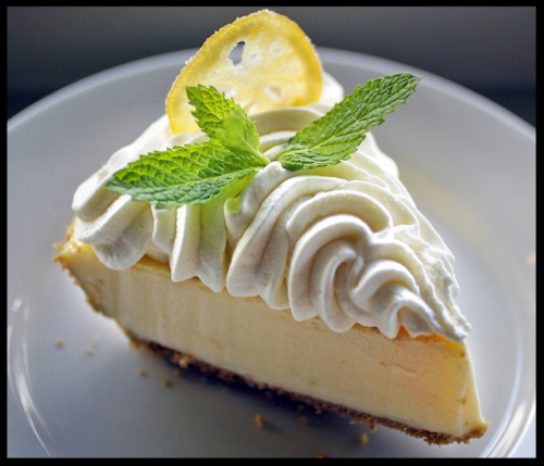 Clancy's in New Orleans, is famous for this tart, refreshing and easy to make favorite. Click the button below for the recipe. You can make it now and freeze it for later, too!