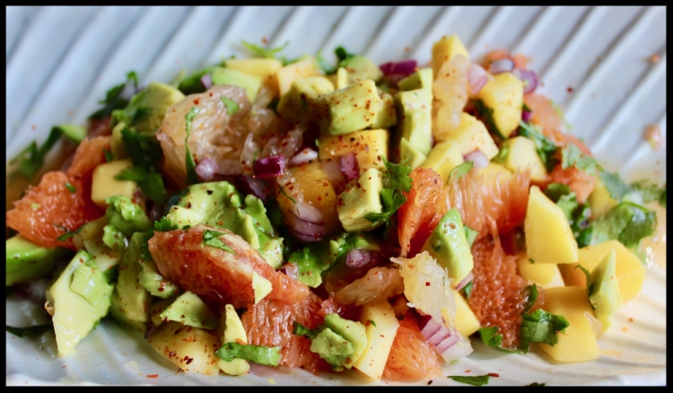 Bright and bold citrus blend with creamy avocado for this delightful, nutrition-packed salad.