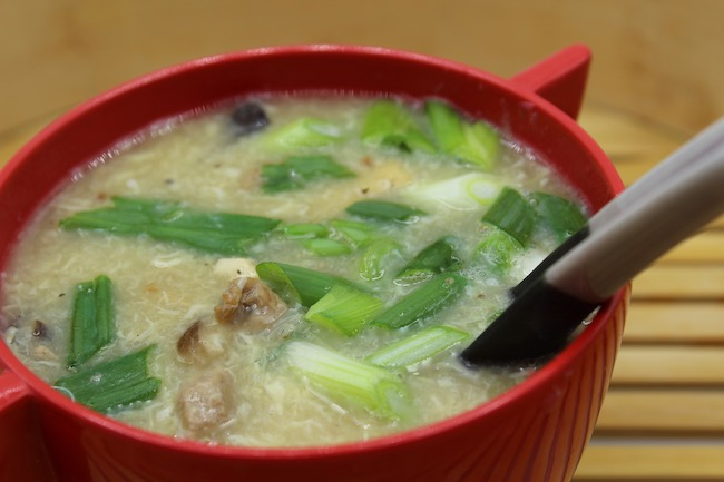 HOT & SOUR SOUP - perfect for a winter day!