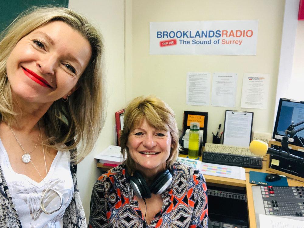 Lou on radio