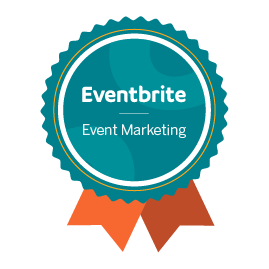 Completed Eventbrite's Event Marketing course and demonstrated industry expertise in social media, paid advertising, event discovery, email marketing, and website conversion strategy for events.