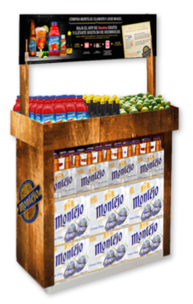 Michelada merchandiser