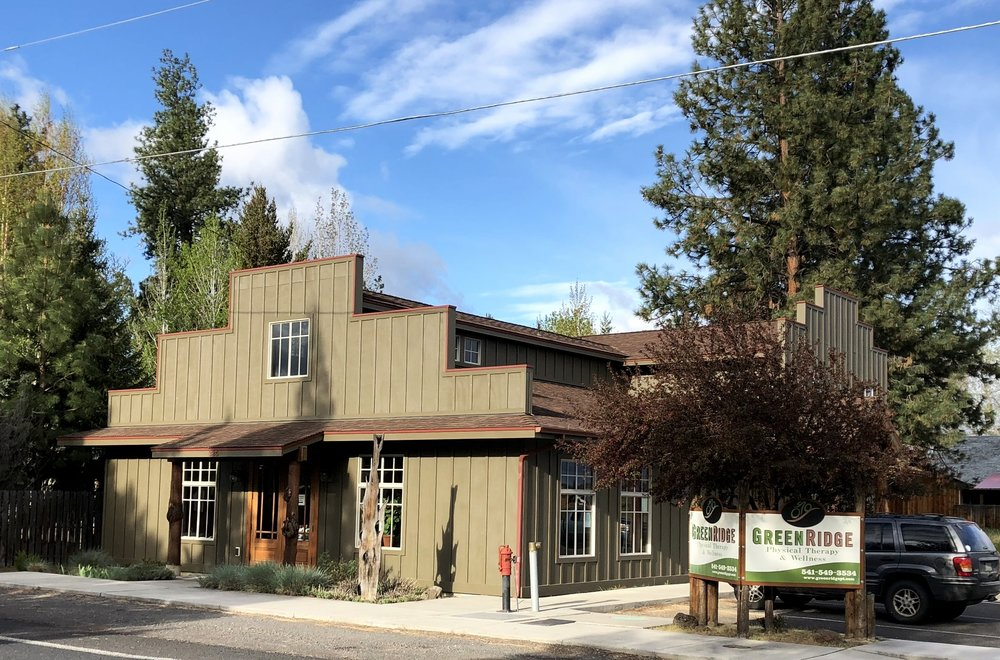 Green Ridge Physical Therapy, located in beautiful sisters, OR