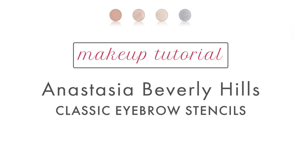 Anastasia Beverly Hills Classic Eyebrow Stencil Organic Natural