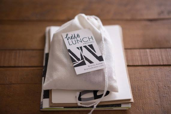 Hello Lunch Printing // Creative direction and branding (Photo by Laura Barnes Photo)