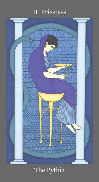 Image : Dark Goddess Tarot by Ellen Lorenzi-Prince