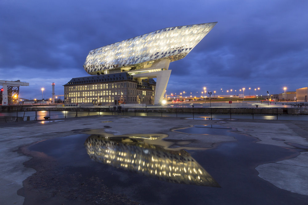 Nieuw Havenhuis in Antwerpen
