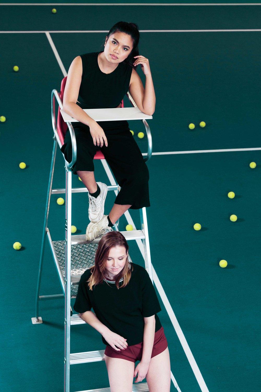 Tennis fashion shoot David Lloyd Clubs Edegem