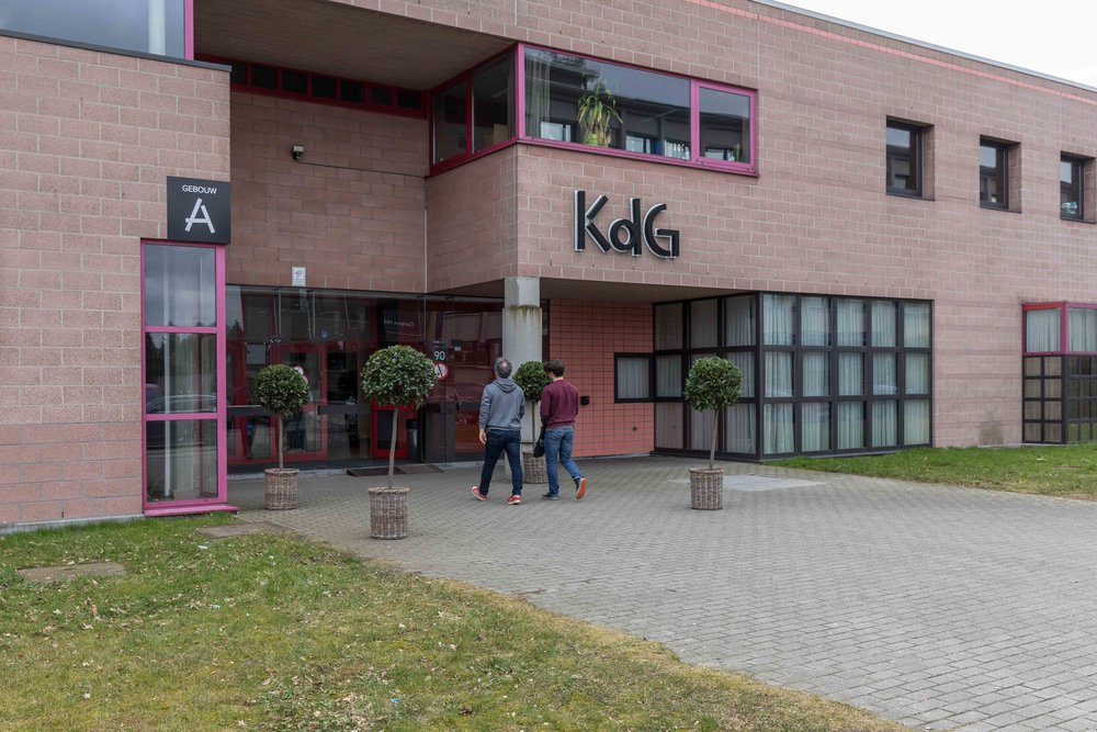 Infodag Campus Hobboken, Karel de Grote HogeschoolPhoto © Alexis Breugelmans