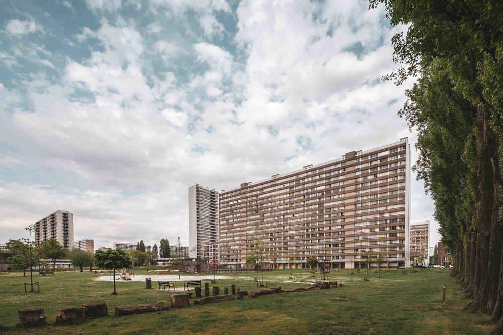 Architectuur op Linkeroever - Antwerpen