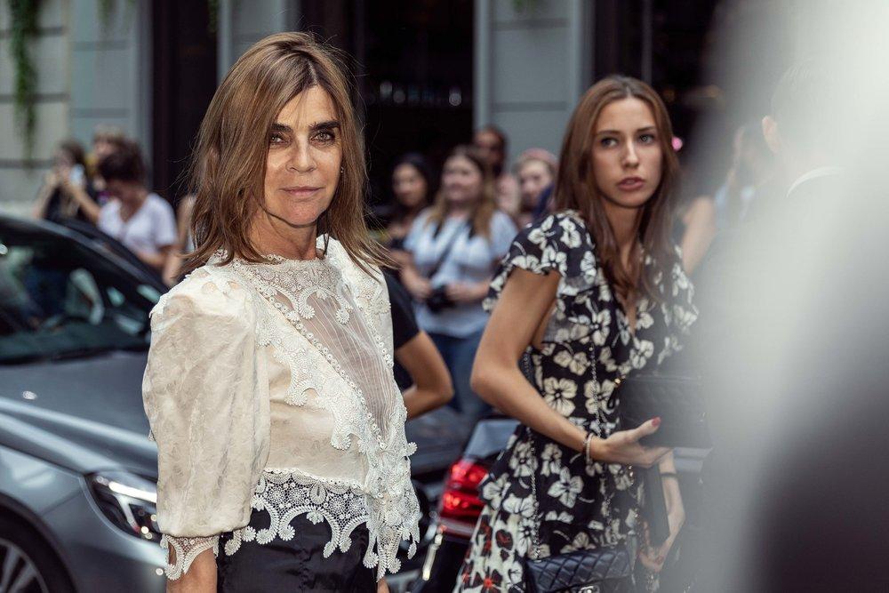 Carine Roitfeld at Givenchy Paris Fashion Week - Haute Couture 18
