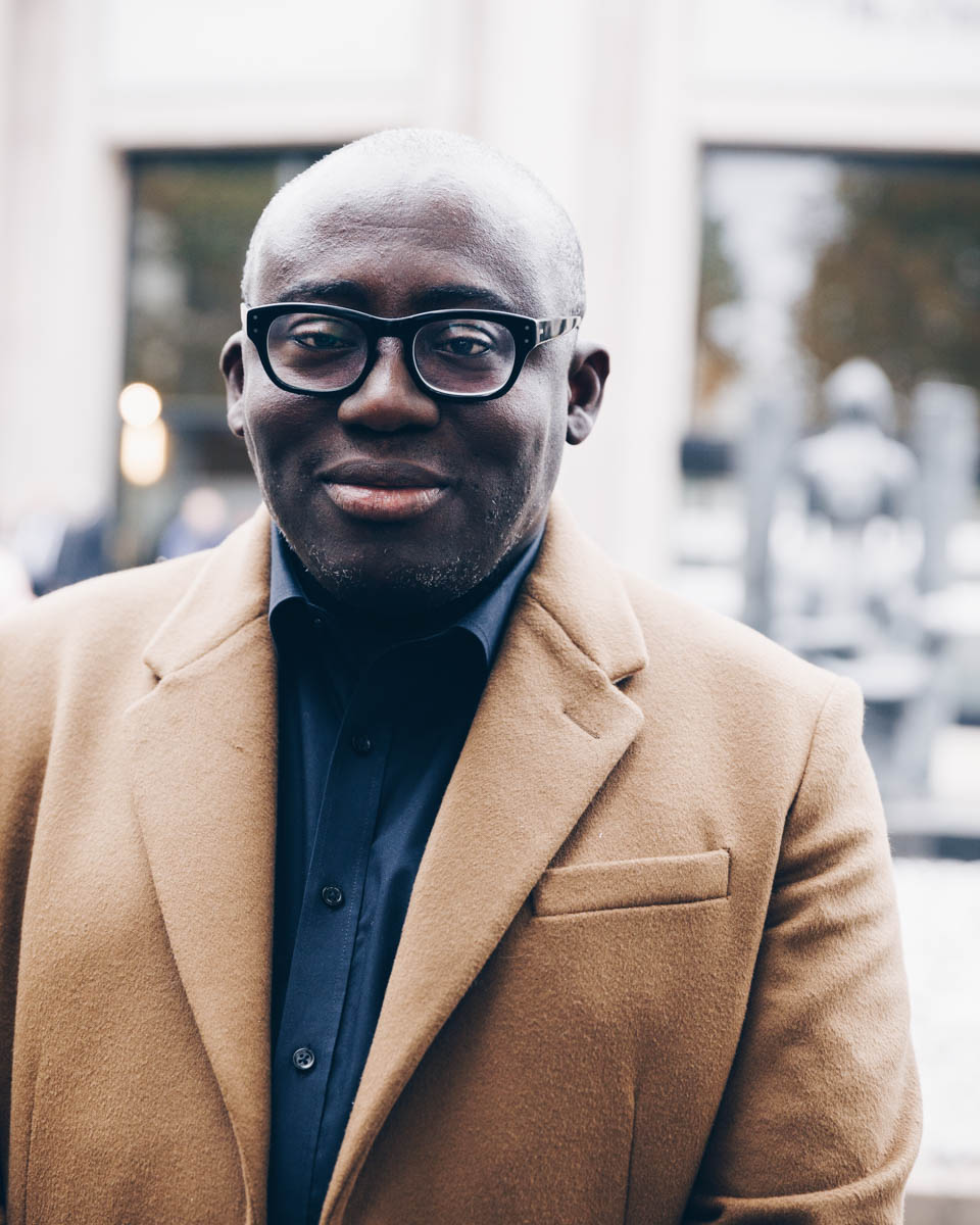 Portrait of Edward Enninful, OBE - Editor-in-Chief of British Vogue  Shot in Paris, photo © Alexis Breugelmans
