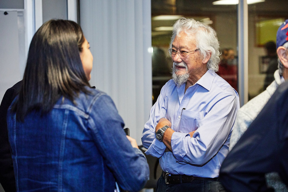 David suzuki foundation - I have worked with the David Suzuki Foundation's Sustainable Diversity Network. You can learn more here.